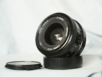 Pentax PKA Mount Vivitar 28mm 2.8 Prime Wide Angle Lens -- Great Bokeh - Nice-